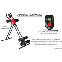 Aparelho Abdominal Ginástica 5 Min Shaper Academia Fitness