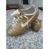 Zapatos De Futbol Nike Total 90 Dorados Como Nuevos
