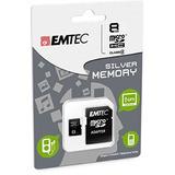 Emtec 8 Gb Class 4 Mini Jumbo Super Microsdhc Memory Card