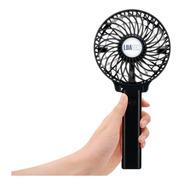 Mini Ventilador Portátil De Mão E Mesa Recarregável