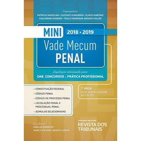 Mini Vade Mecum Penal Rt 7ª Edição 2018