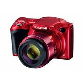 Camara Digital Powershot Canon S0x420 Rojo 1069c001