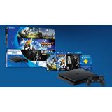 Playstation 4 Ps4 Slim 500 Gb + 3 Juegos + Joystick