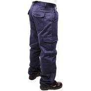 Pantalón De Trabajo Cargo Rufer Azul Marino Talles 50al60