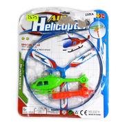 Juguete Helicoptero Con Lanzador Niños Entretenimiento