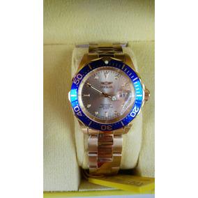 Reloj Invicta Hombre Pro Diver Gold, Dial 18k Gold Chapado