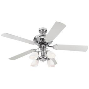Ventilador / Abanico De Techo Modelo Jewel Cromado 52 Pulg