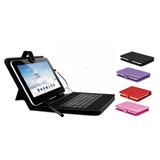 Estuche Protector Funda Con Teclado Para Tablet 7 Modelo 71n