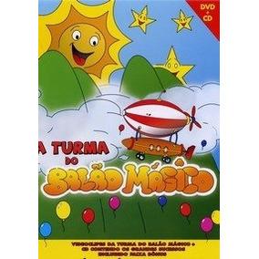 A Turma Do Balão Mágico - Dvd + Cd Lacrado