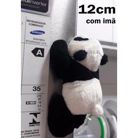30 Ursinho Panda Apaixonado Imã De Pelúcia 12cm Frete Grátis