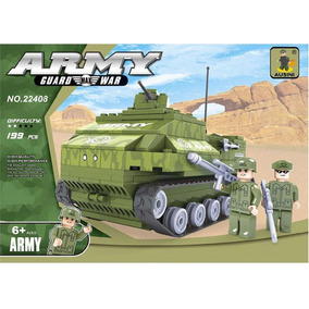Set De Guerra - Tanque De Guerra - Lego Alternativo Ausini