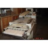 Maquina Para Panaderia Trinchadora Enlatindupan 70 X 90