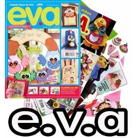 16 Revista E.v.a Eva Artesanato Arte Lembrança + 1 Dvd
