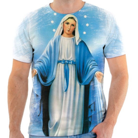 bd424a6ea4 Camiseta Camisa Blusa Estampa Catolico 12