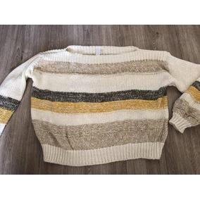 Karyn Coo Talla S Rayado Chaleco Sweater