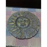 Piedra Tallada Decorativa Sol Y Luna