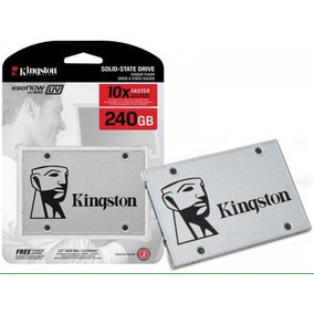 Hd Ssd Kingston 240gb Ssdnow Uv400 Sata 3 6gb/s 500mb/s Novo