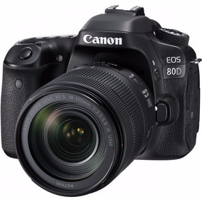 Camara Reflex Canon Eos 80d Kit Full Hd Wifi
