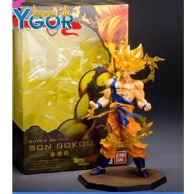 Boneco Super Saiyan Son Gokou Goku Anime - Pronta Entrega