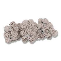 Mini Flor De Eva Lore Com 144 Flores Brancas