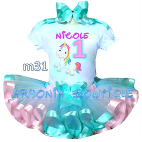 Conjuntos Tutu Vestidos Niñas Unicornio Frozen Minnie