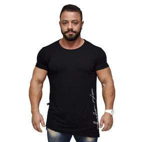 Camiseta Larger Side Long Masculina - Hardcore Line