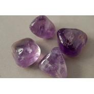 Piedra Mineral Cuarzo Amatista Rolada Nro. 2