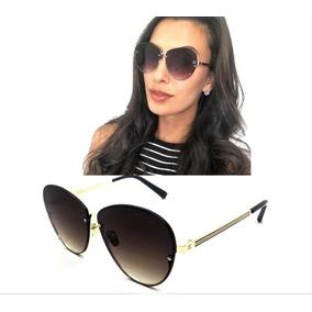 Oculos De Sol Feminino Redondo Espelhado Gucci Premium