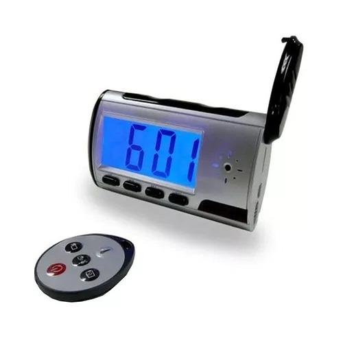 Relógio Multifuncional Camera Espi? Com Controle Remoto