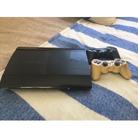 Playstation 3 Ultraslim De 250 Gb Con 2 Joysticks, Poco Uso!