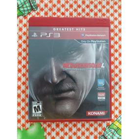 Metal Gear Solid 4 Ps3 Usado