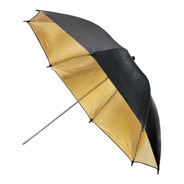 Sombrilla/paraguas Godox 101 Cm  Negro/dorado