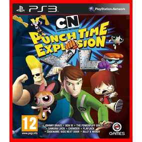 Cartoon Network Punch Time Ps3 Psn Ben 10