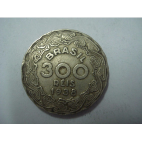 Moedas Rara De 300 Réis 1940