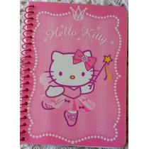 Pequeña Libreta De Hello Kitty. Lista Para Tus Notas!!