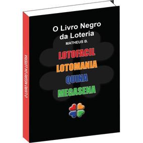 O Livro Negro Da Loteria - Combo 5 Livros Impresso Em 1
