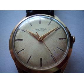 Relógio Universal Genêve Ouro 18 K-750 Jjoaobaldini2009
