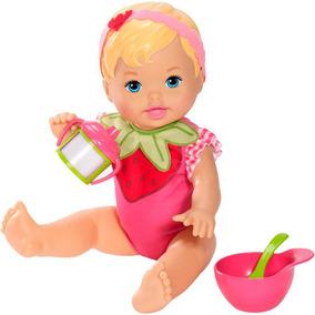 Boneca Little Mommy Momentos Do Bebê Hora Do Moranguinho