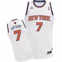 Camiseta Knicks Para Niños Nº 7 Anthony Adidas