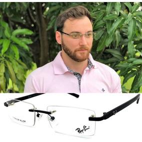 af3bdddc6365f Armacao De Titanio - Óculos Armações no Mercado Livre Brasil