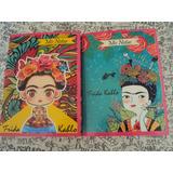Anotador Libreta De Frida Kahlo 18 X 13 Cm Plastificada Ver