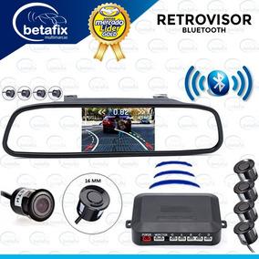 Retrovisor Bluethoo Con Camara Y Sensores De Retro Betafixec