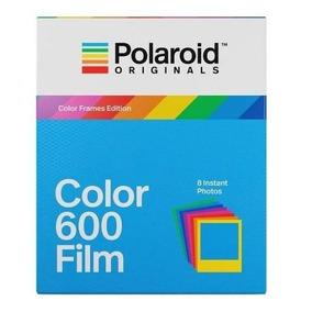 Filme Colorido Instantâneo Iso 640 P/ Câmeras Polaroid 600
