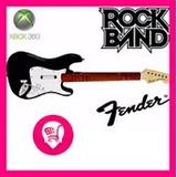 Kit Guitarra E Bateria Xbox Sem Fio Rock Band Guitar Hero