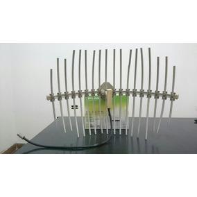 Antena Grillada 21db 2.4 Ghz