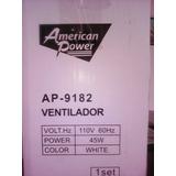 Extractor De Aire Ventilador De 12 Pulgadas American Power