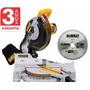 Serra Esquadria 10p 1600w 110v Dewalt Dw713 + Aluminio Madei