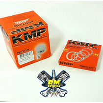 Pistão C/ Anéis Kmp Strada/ Cbx 200 / Xr200 / Nx 200 - 2mm