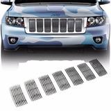 Inserto De Parrilla Cromado Jeep Grand Cherokee 2011-2016