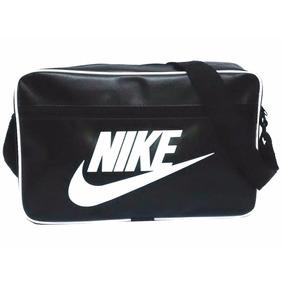 Pasta Bolsa Mala Masculina Feminina Nike Carteiro Couro